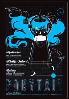 Ponytail Poster