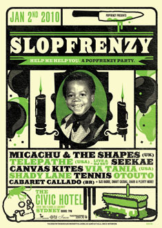 Slopfrenzy Poster