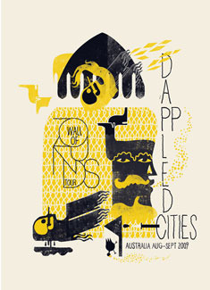 Dappled City Poster