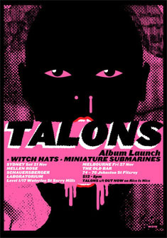 Talons Launch Poster