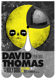 David Thomas Poster