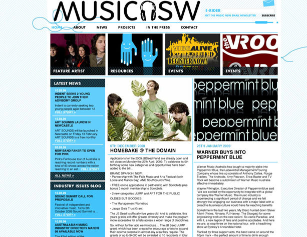 musicnswweb